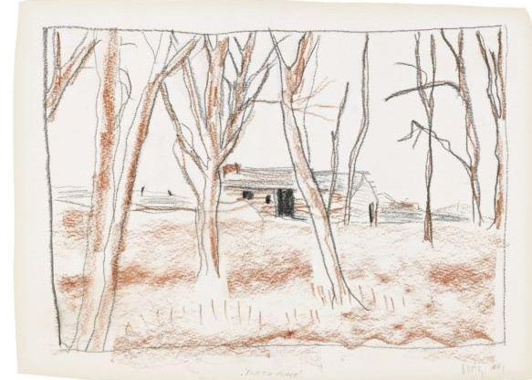Peter Doig-Birthplace-1991