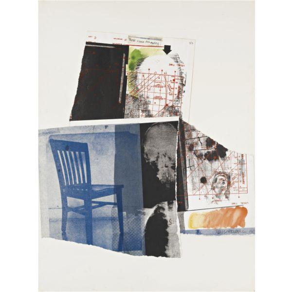 Robert Rauschenberg-Robert Rauschenberg - Paper Clock for Alexis-1967