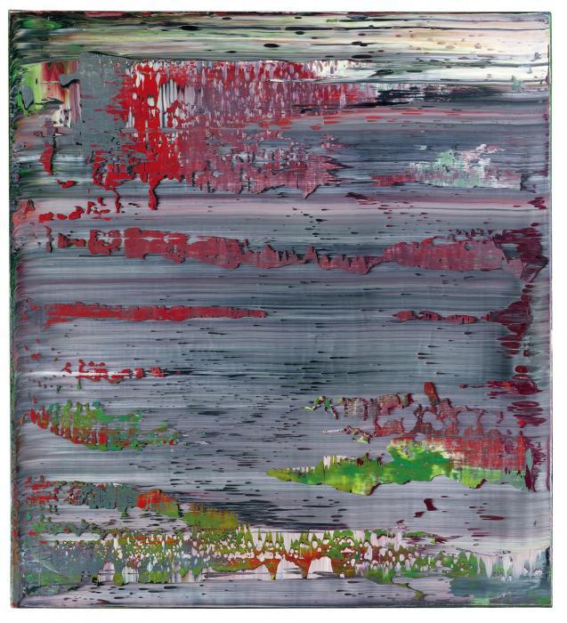 Gerhard Richter-Abstraktes Bild 825-12 (Abstract Painting 825-12)-1995