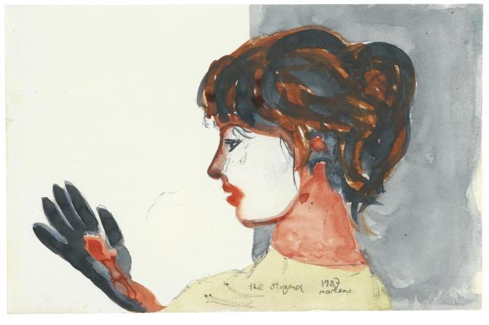 Marlene Dumas-The Stigma-1987