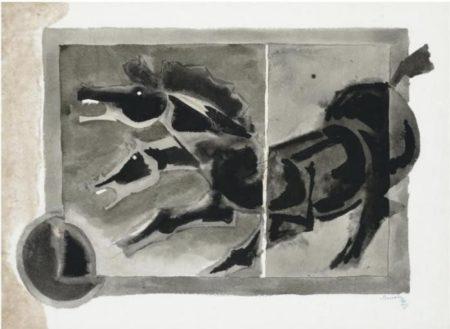 Maqbool Fida Husain-Untitled-1982