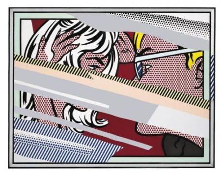 Roy Lichtenstein-Reflections on Conversation-1990