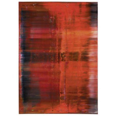 Gerhard Richter-Abstraktes Bild 743-4 (Rot)-1991