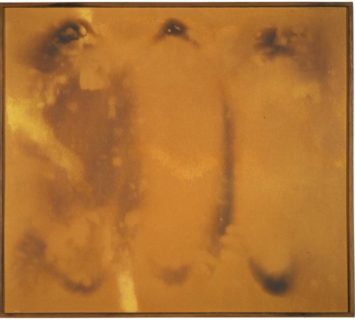 Yves Klein-Untitled Fire Painting (F 104)-1961