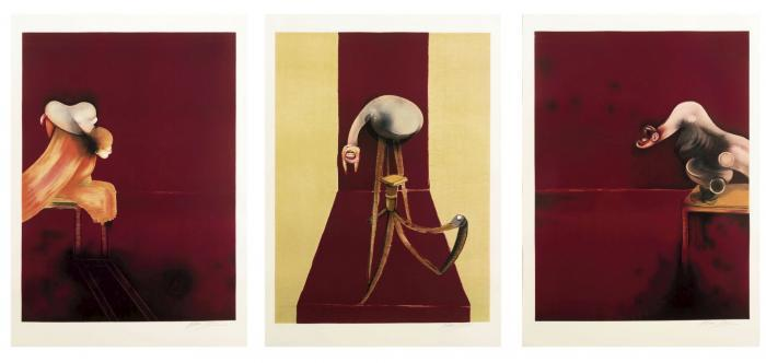 Francis Bacon-Second Version of the Triptych-1989