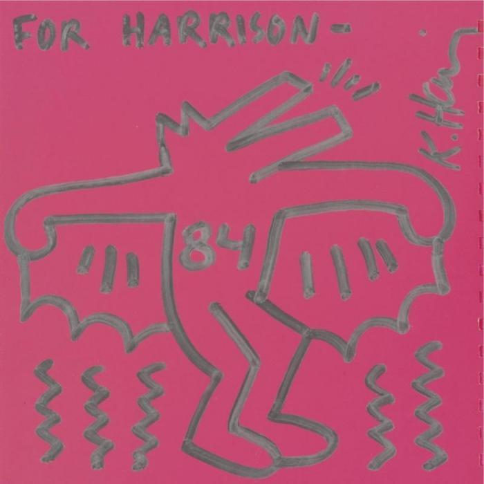 Keith Haring-Keith Haring - Untitled (For Harrison)-1984