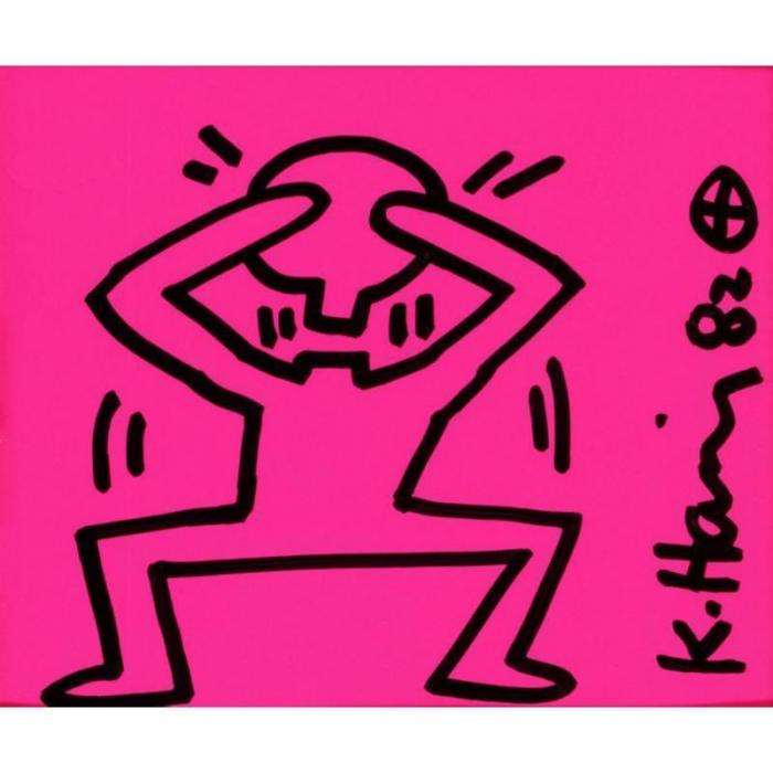 Keith Haring-Keith Haring - Removable Head-1982