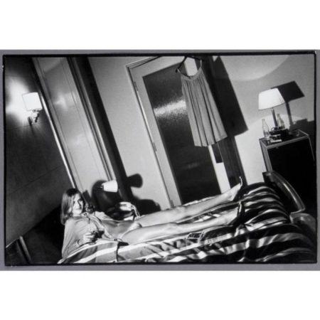 Helmut Newton-Hotel De Crillon (woman In Bedroom), Paris (1979)-1979
