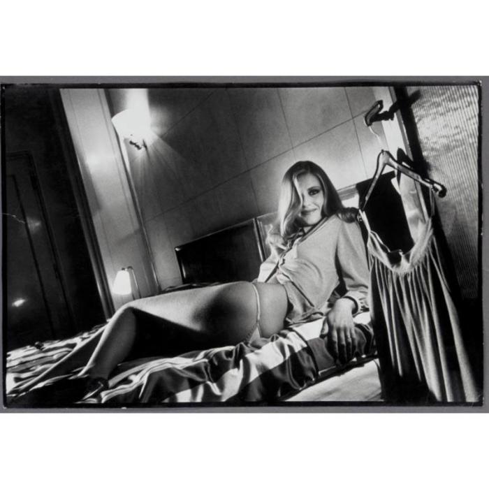 Helmut Newton-Hotel De Crillon (woman On Bed), Paris (1979)-1979