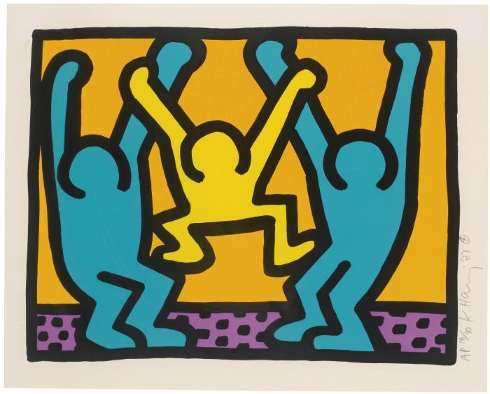 Keith Haring-Keith Haring - Pop Shop I (L. Pp. 82-83)-1987