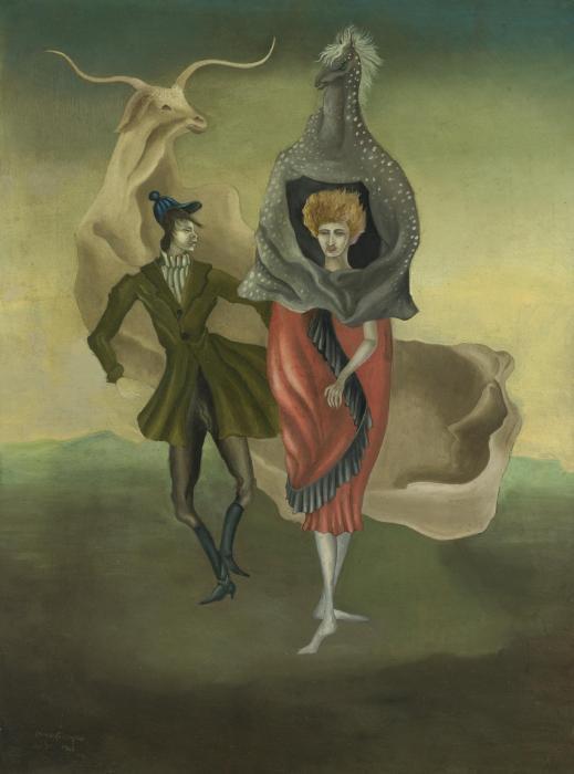 Leonora Carrington-Personajes de teatro (Theatre People)-1941