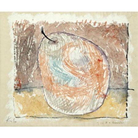 Paul Klee-Ananasbirne (Pineapple Pear)-1933