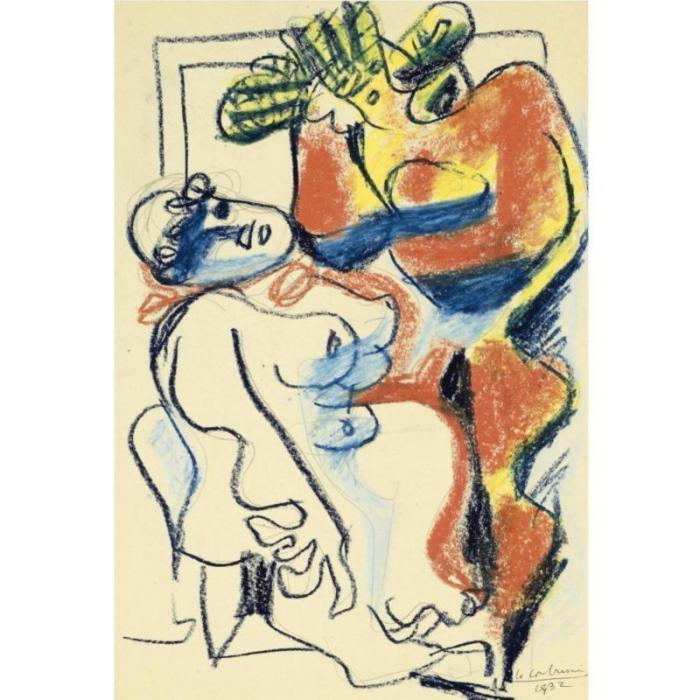 Le Corbusier-Deux femme nues-1932