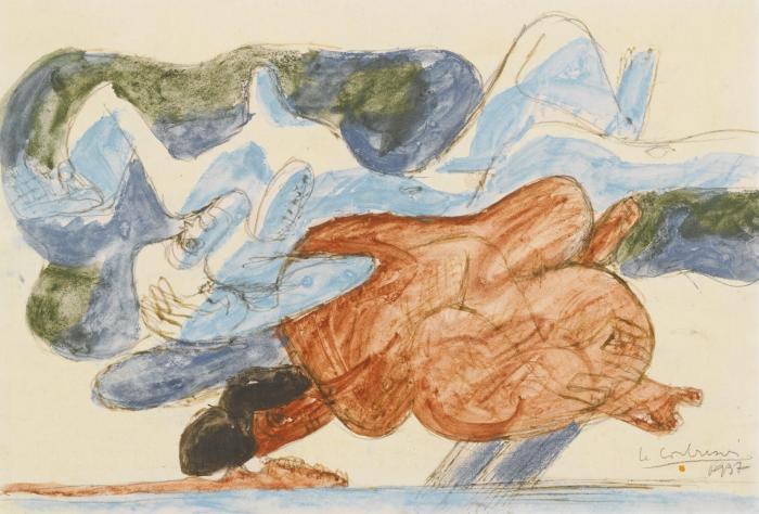 Le Corbusier-Deux femmes allongees-1937