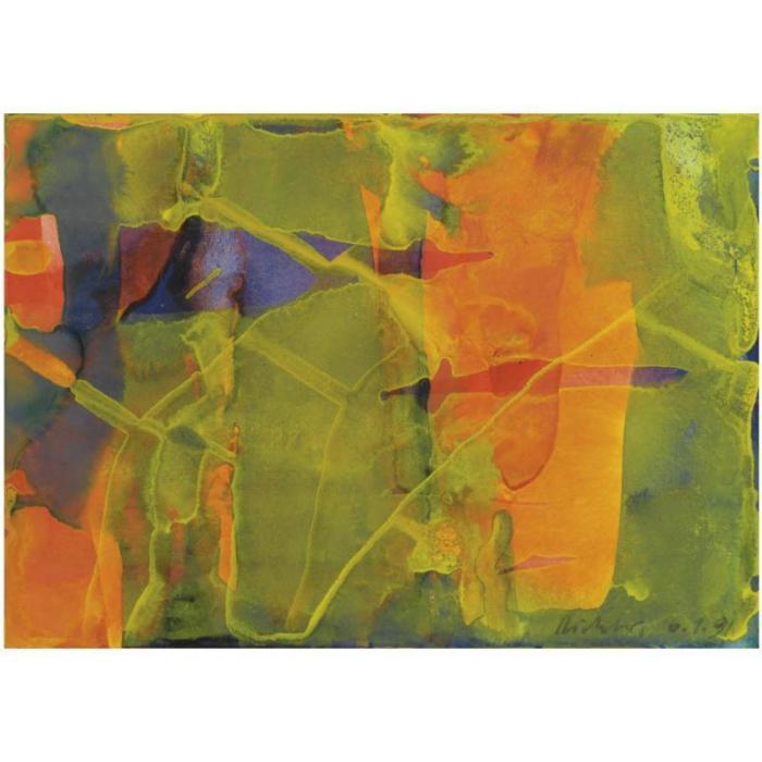 Gerhard Richter-Ohne Titel (6.1.91) / Untitled (6.1.91)-1991