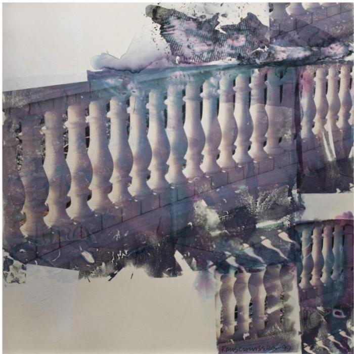 Robert Rauschenberg-Robert Rauschenberg - Harp (Anagram a Pun)-1999