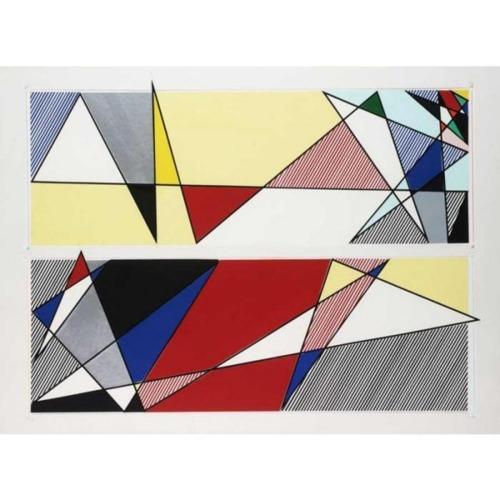 Roy Lichtenstein-Project for Luna Luna-1986