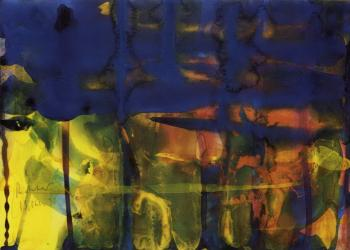 Gerhard Richter-Ohne Titel (13.10.90) / Untitled (13.10.90)-1990