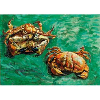Vincent van Gogh-Deux crabes-1889
