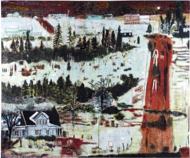 Peter Doig-Iron Hill-1991