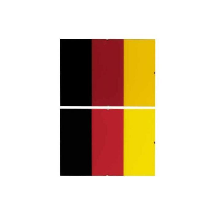 Gerhard Richter-Schwarz, Rot, Gold II (Black, Red, Gold II)-1998