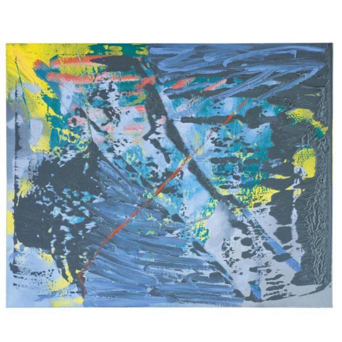 Gerhard Richter-Abstraktes Bild 481-2 (Abstract Painting 481-2)-1981