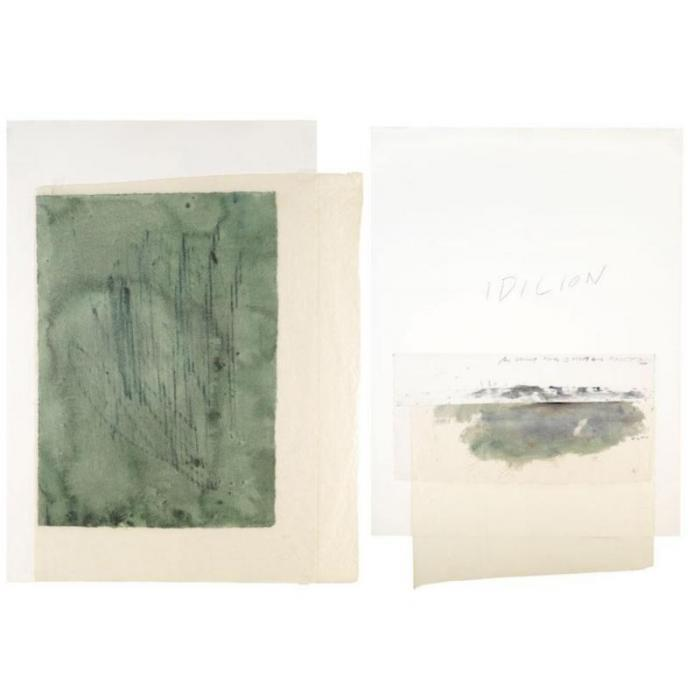 Cy Twombly-Idilion-1976