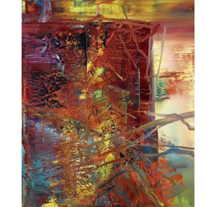 Gerhard Richter-Abstraktes Bild 609-2 (Abstract Painting 609-2)-1986