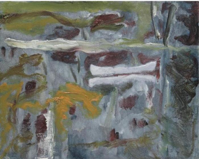 Peter Doig-White Canoe-1993