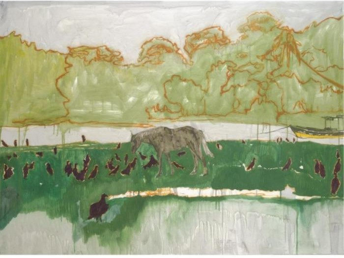 Peter Doig-Horse / Untitled-2001
