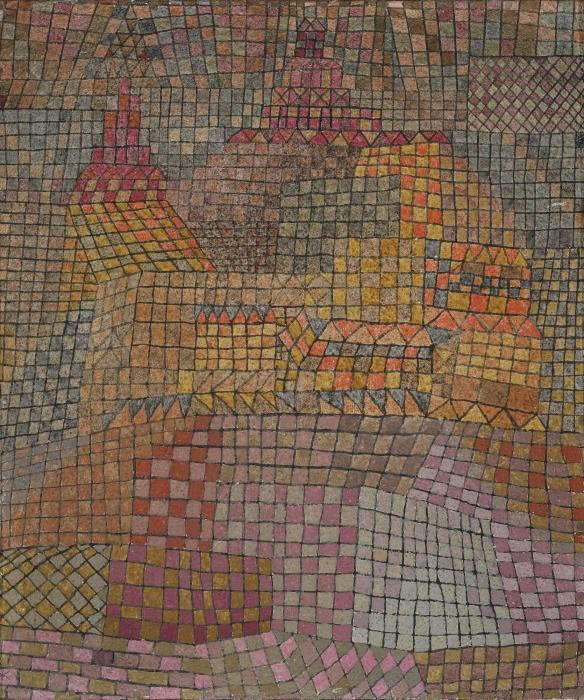 Paul Klee-Stadtburg KR. (Town Castle KR.)-1932