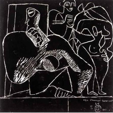 Le Corbusier-La famille cocasse-1942