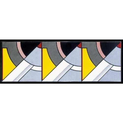 Roy Lichtenstein-Modern Painting-1967