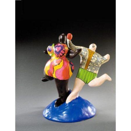 Niki de Saint Phalle-Two Figures, Love-1975