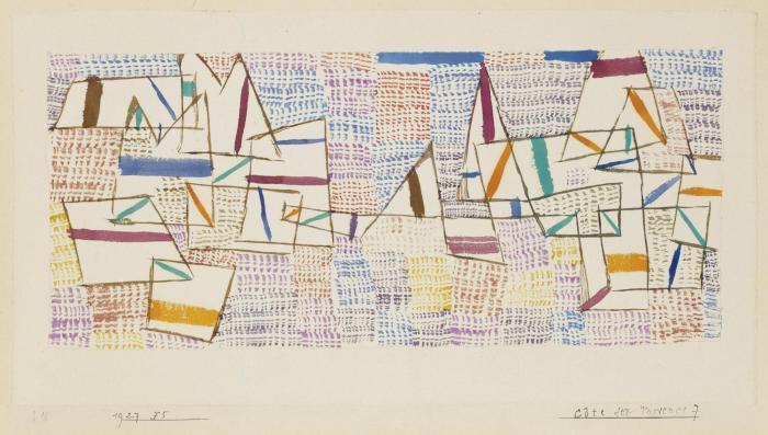 Paul Klee-Cote de Provence 7-1927
