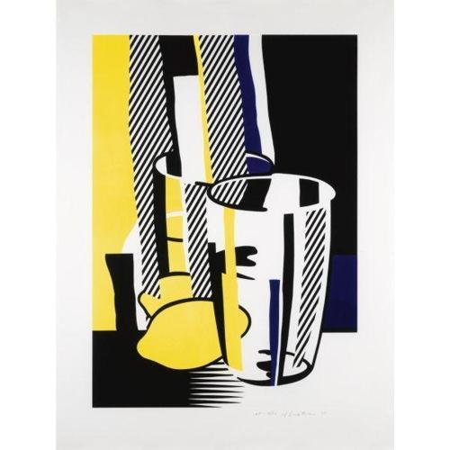 Roy Lichtenstein-Before the Mirror-1975