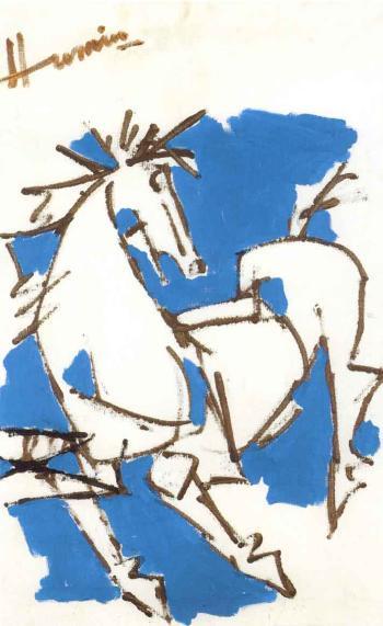 Maqbool Fida Husain-Untitled-2006
