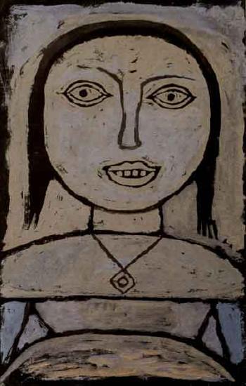 Paul Klee-Krankes Madchen (Sick Girl)-1937