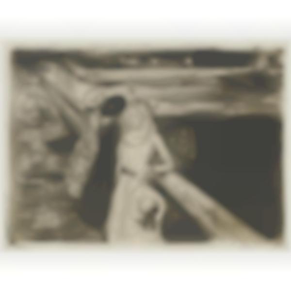 Edvard Munch-The Girls On The Bridge (Woll 232; Schiefler 200)-1903