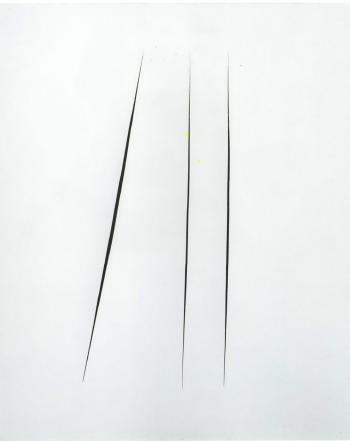 Lucio Fontana-Concetto spaziale, Attese: a suonato il telefono che barba-1965