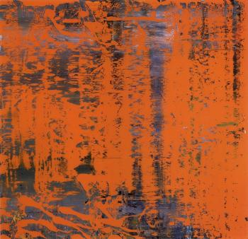 Gerhard Richter-Abstraktes Bild 742-4 (Abstract Painting 742-4)-1991