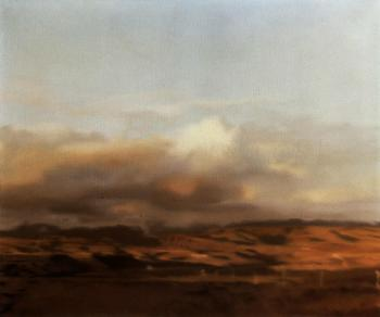 Gerhard Richter-Small Canary Island Landscape-1971