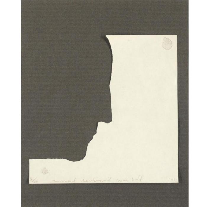 Marcel Duchamp-Self-Portrait in Profile-1963