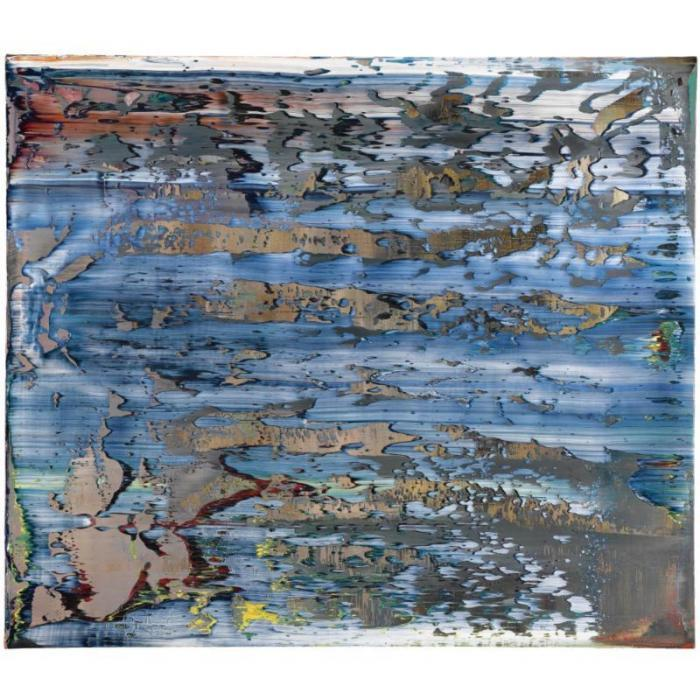 Gerhard Richter-Abstraktes Bild 713-4 (Abstract Painting 713-4)-1990
