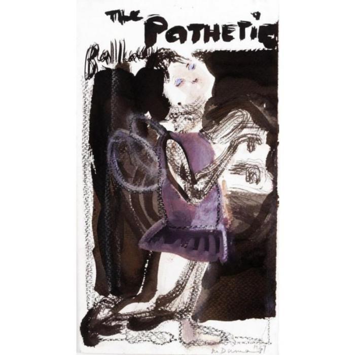 Marlene Dumas-The Pathetic Ballerina-1989