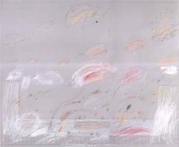 Cy Twombly-Rape of the Sabines-1961