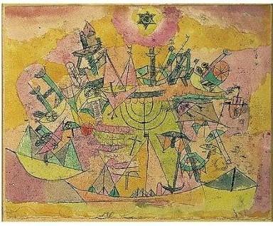 Paul Klee-Unstern Der Schiffe-1919