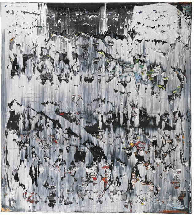 Gerhard Richter-Abstraktes Bild 687-4 (Abstract Painting 687-4)-