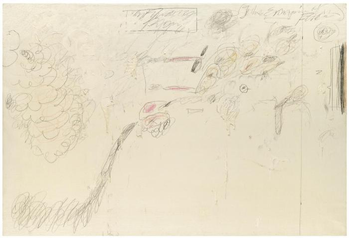 Cy Twombly-Untitled (The Empire of Flora)-1961