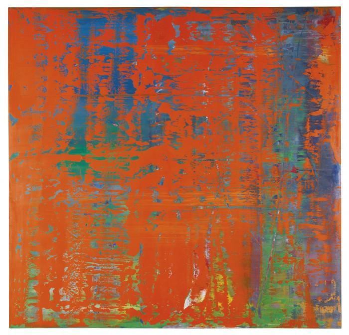 Gerhard Richter-Abstraktes Bild 742-1 (Abstract Painting 742-1)-1991